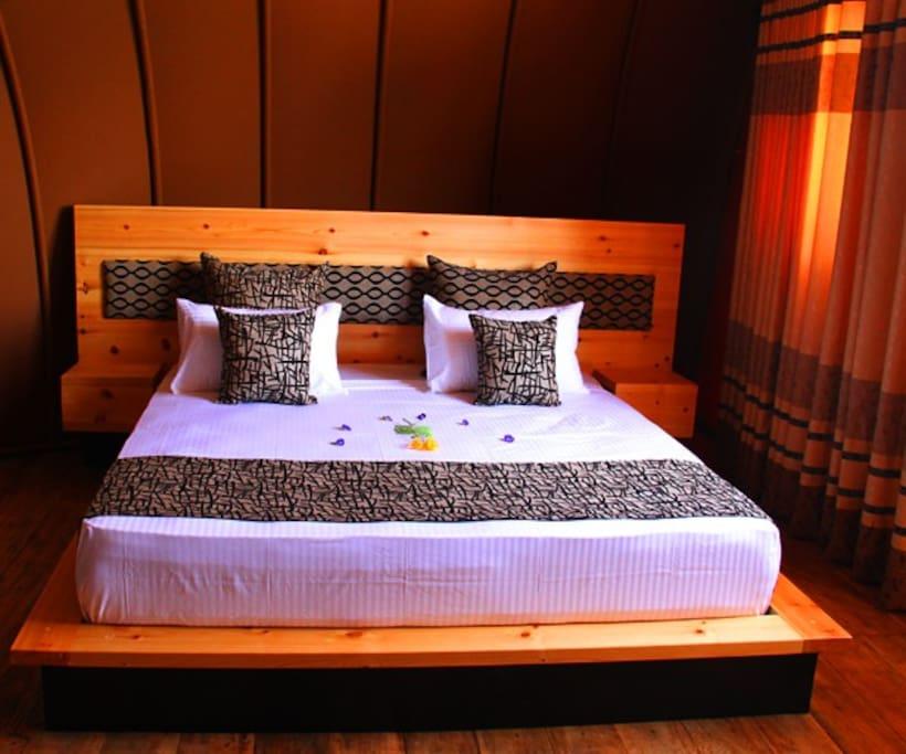 Bed Room - Luxury Tent