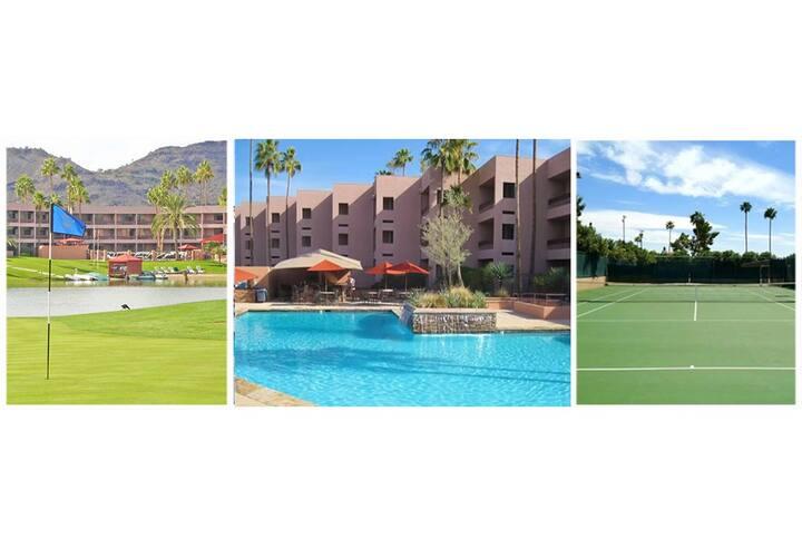 Scottsdale 3 room Golf PrivatePatio