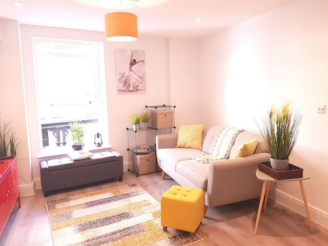Stunning Flat town centre few steps from the beach