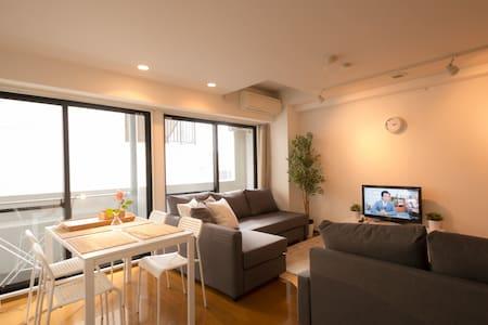 New open!! Located in Namba for 6 people. - Chūō-ku, Ōsaka-shi - Квартира