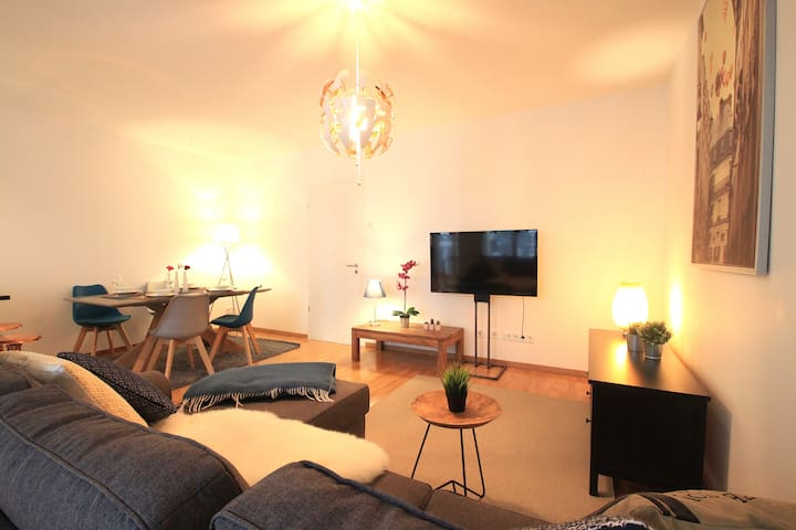 Your living and dining area