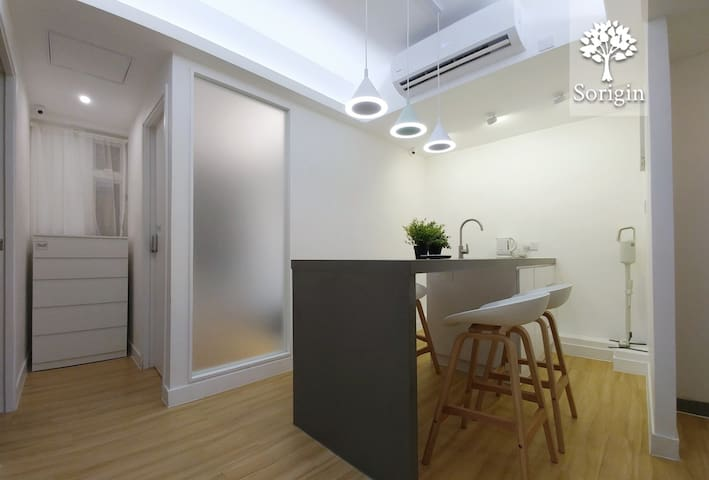 {Family & Fds} 3BR2WR Cozy Apt 2min to MTR #00dS