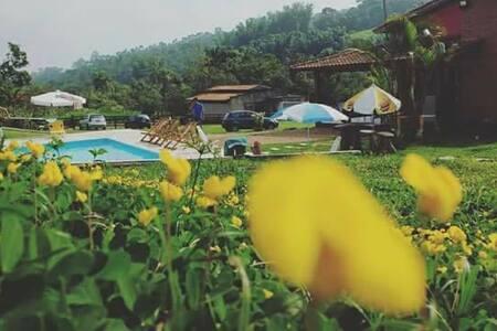 Casa de Campo em Mogi das Cruzes - Mogi das Cruzes - Mökki