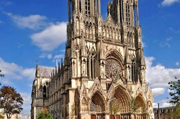 150 m de la Cathédrale en hyper centre ville - Reims - Appartement