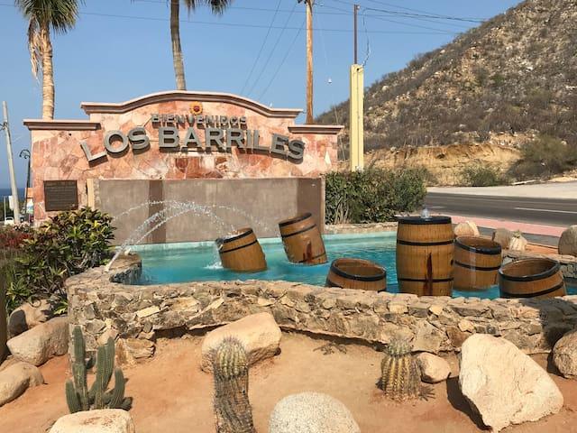 Entrance to Los Barriles