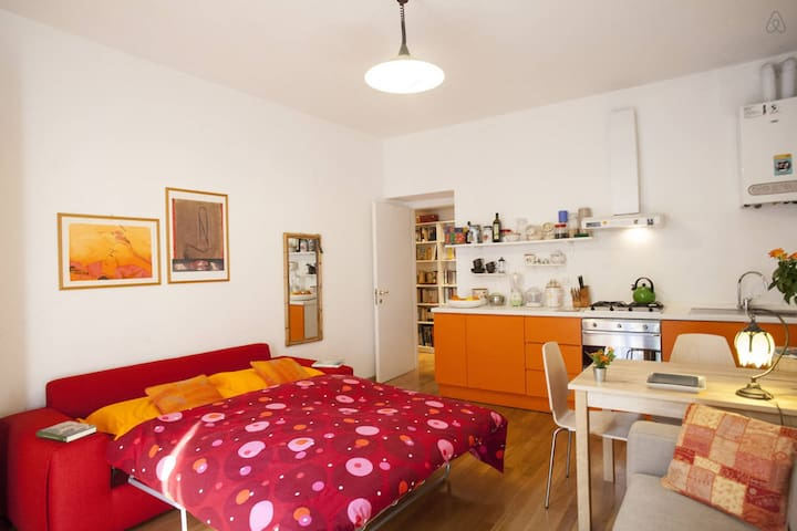 Wide studio in the heart of Isola in Milan!