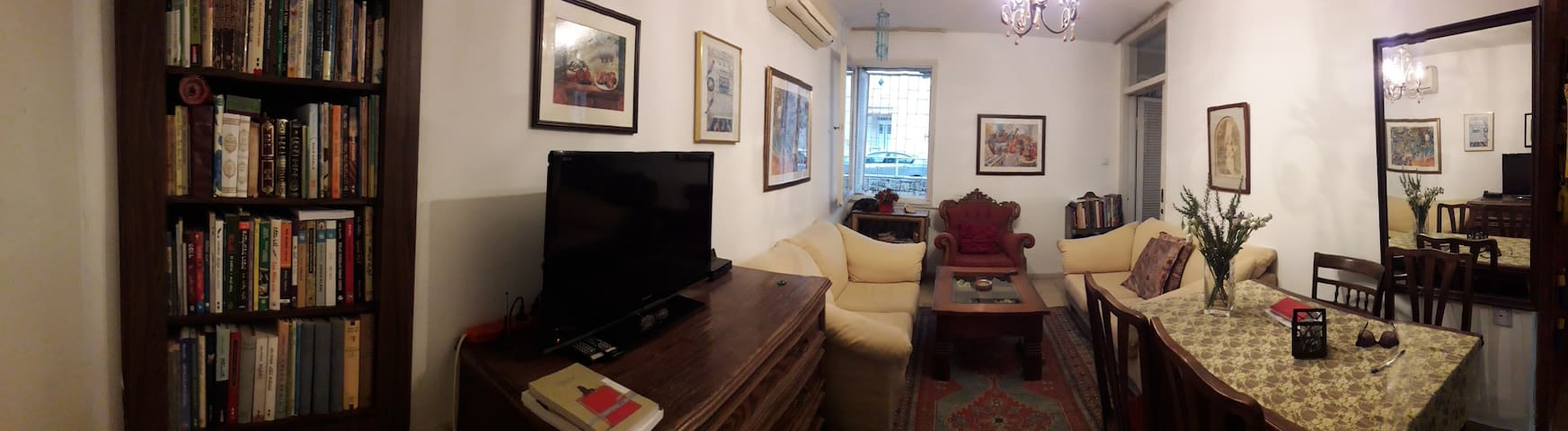 A cosy room in magical jerusalem