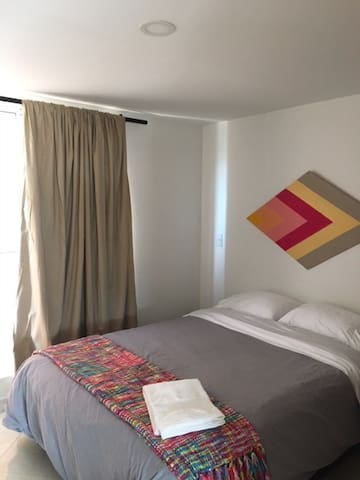 Bedroom: Full size bed