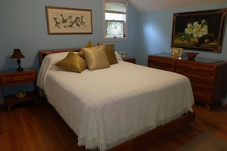 Nice room in a secluded wooded setting. - Dahlonega - Rumah