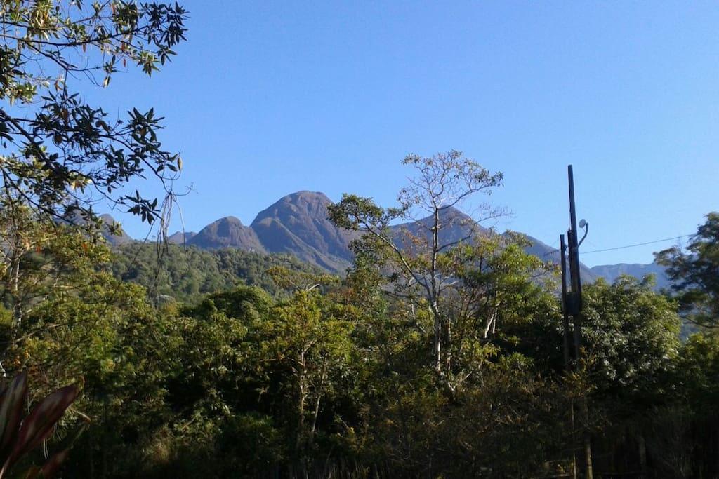 Vista p a Serra da Mantiqueira
