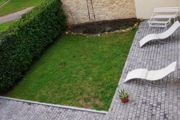 Chambre privée dans maison avec jardin - Listrac-Médoc - Huis