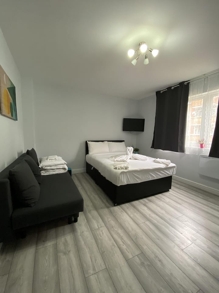Budget Comfortable Studio In City Center for 4 PPL