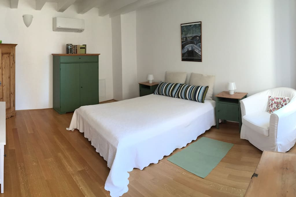 The bedroom on the second floor is friendly, spacious, comfortable and ...