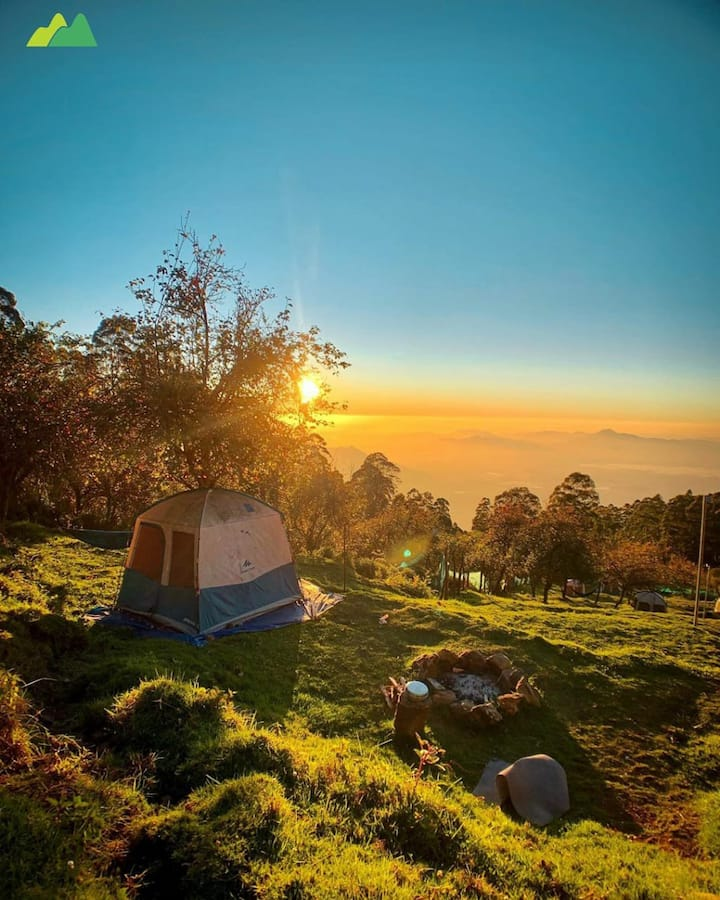 peaceful camping in kodaikanal/couples/friends