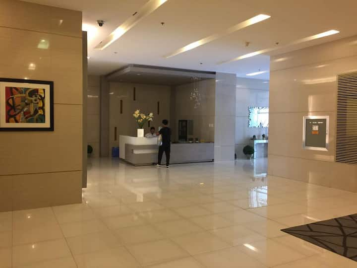 JJJGM  Place Quezon City (fully furnished unit)