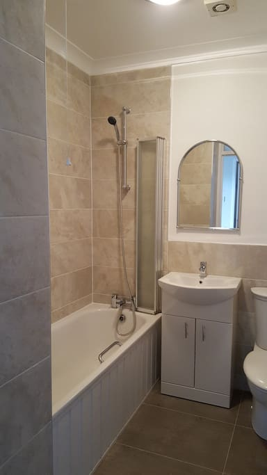 Shower and Bathroom