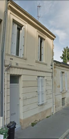 Chartrons, Maison de ville, calme