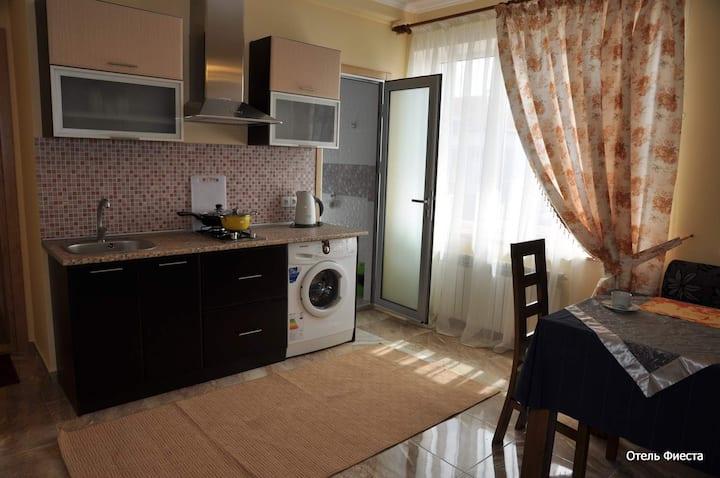 Уютная однокомнатная новая квартира класса люкс!