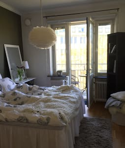 Cozy bedroom in Gothenburg city