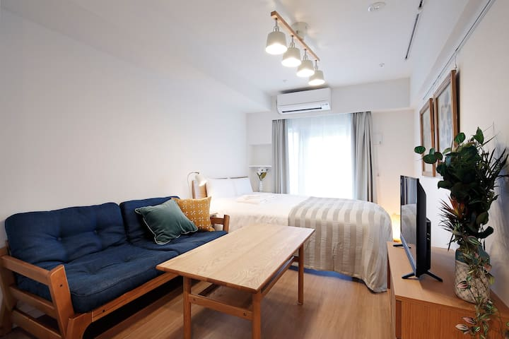 KARIO SASAZUKA TERRACE/1min to Sasazuka Sta.! #Double Room