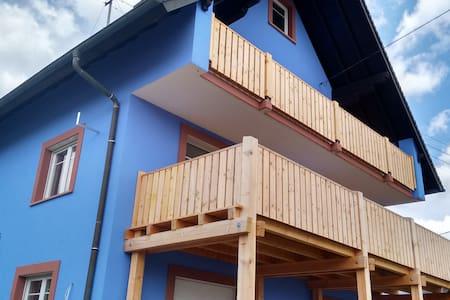"""""""La Maison Bleue""""  mit Panoramablick - Sasbach am Kaiserstuhl - Lägenhet"""