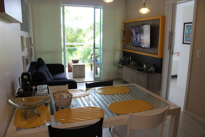 Apartamento Palm Beach, ao lado do Beach Park!