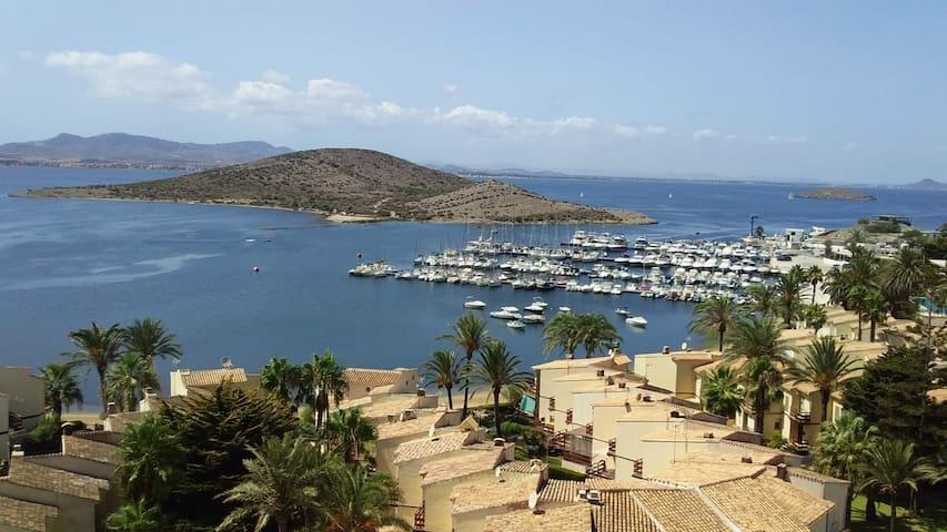 Vistas al Mar Menor desde el balcón