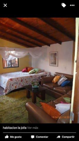 Finca-hostal en medio de naturaleza - Santa Elena - บ้าน
