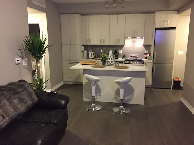 Guest room avail in Jazz Condos - Burlington - Wohnung