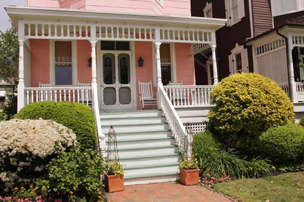 gay cottages, cape may nj