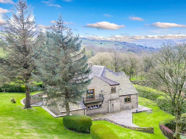 Jasmine Lodge in Marsden, Idyllic countryside