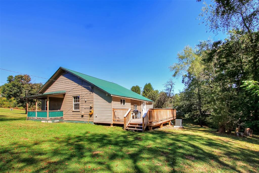 Enjoy secluded wooded views to the back of the property!