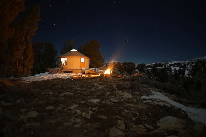 Ruby High Yurt