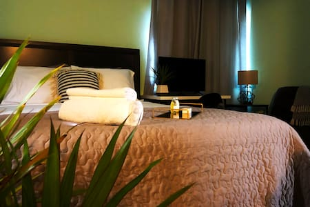 San Sebastián Bed & Breakfast: Green Room (Single)