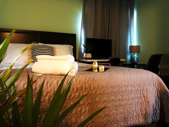 San Sebastián Bed & Breakfast: Green Room (Single)