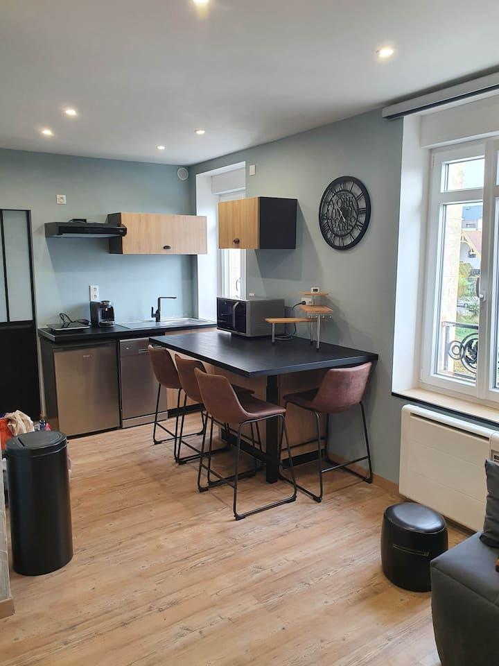Appartement classé 2 * avec vue sur le Wimereux