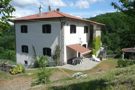 Casa Pastano-Farmhouse Apartment Tornolo, Bedonia
