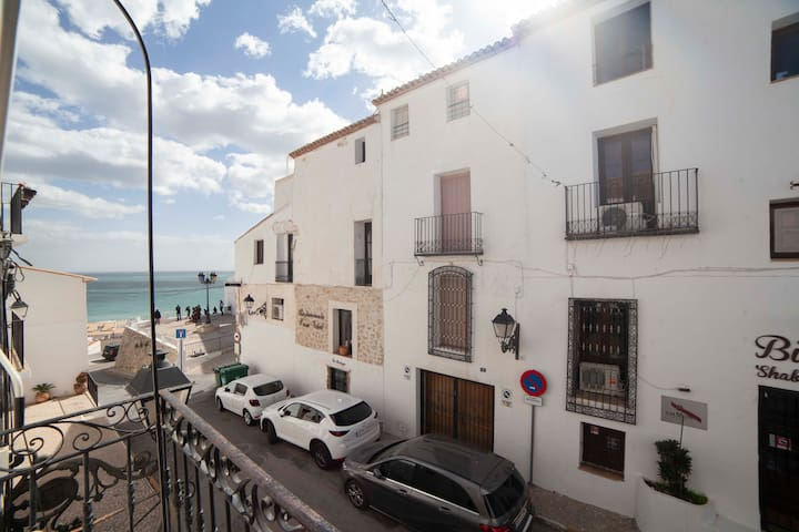 Suite independiente de 43 m2 con vistas al mar