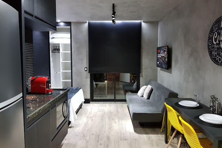 Studio Moderno no Coração de SP