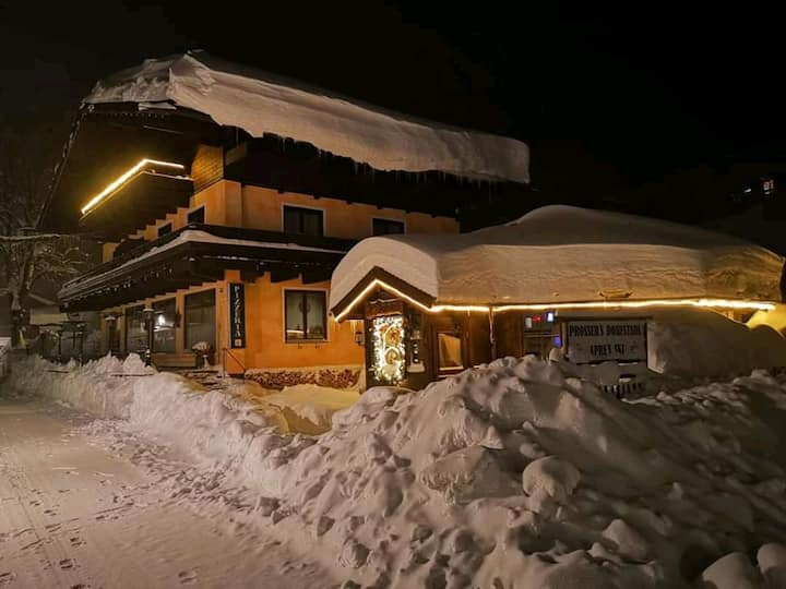 Ortsmitte 300m vom Ski-Lift entfernt