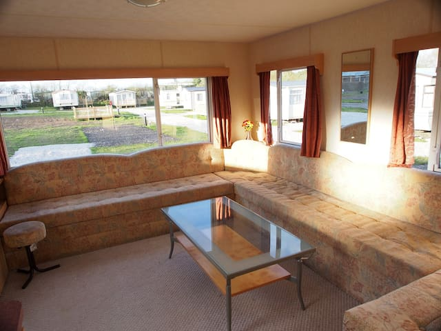 Spacious 2 bed caravan on quiet site Bude Cornwall - Cornwall - Other