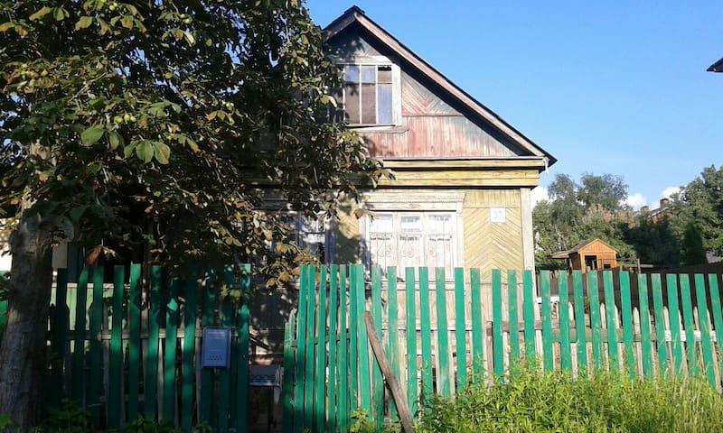 Простой домик рядом с природой - Klimovsk - House
