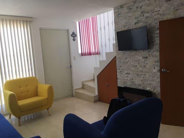 Casa Acogedora en Cuautlancingo