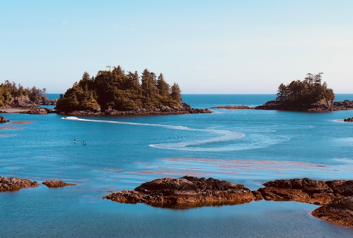 Private Guest Suite 1, Ucluelet Ocean Front