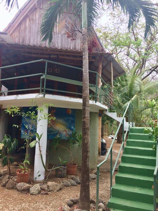 Stairs to Casa Wantana