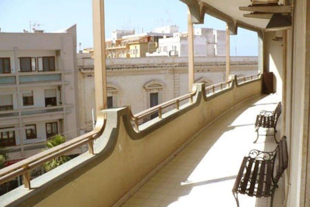 Il balcone sul Corso