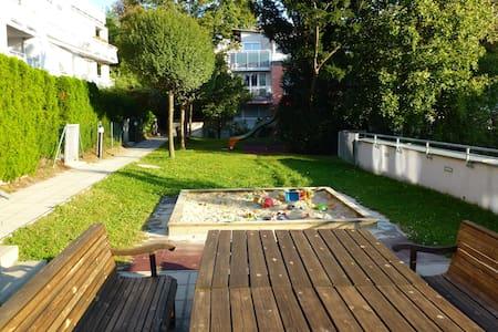 Modern garden apartment with private garden - Wien - Wohnung