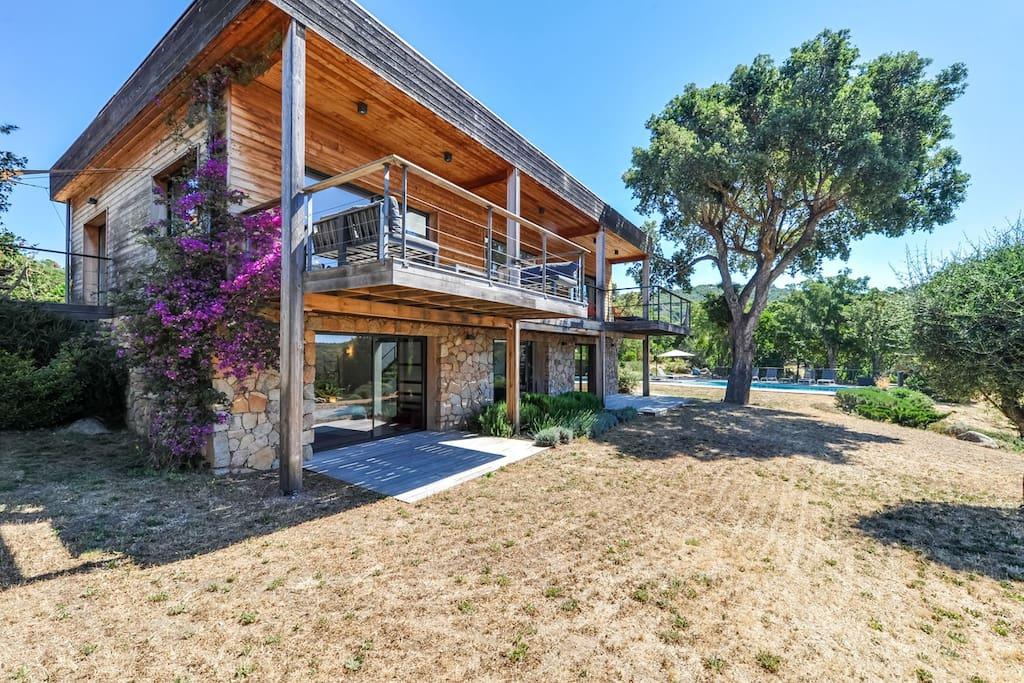 maison d architecte dans un cadre magnifique maisons