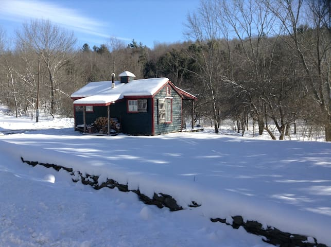 Pet-Friendly Cozy Cabin Retreat - Jefferson - Srub