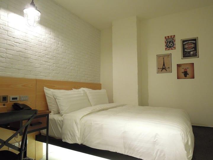 Standard Double Room 5min MRT